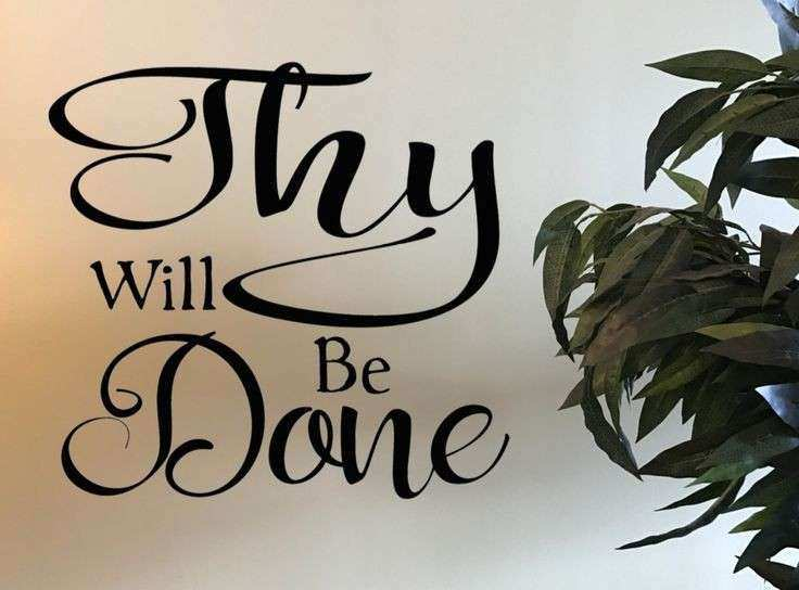 Thy Will Be Done Wall Art Lovely 40 Best Church Wall Decor Wall ...
