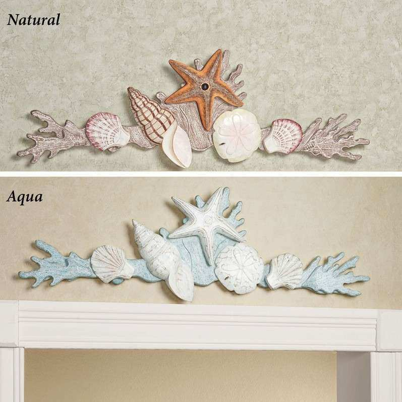Door Toppers Touch Class Coral Garden Wall Topper Clipgoo