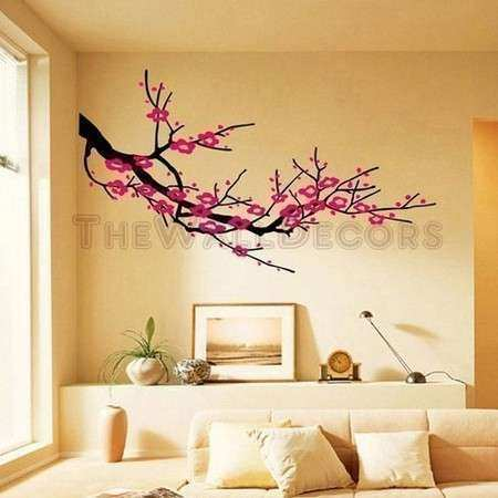 Cherry Blossom Branches wall decals