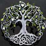 Tree Of Life Metal Wall Decor Awesome Infinitytree Of Life Wall Decor Metal Tree Art with Green