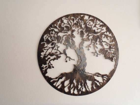 Tree Life Antique Look Wall decor Metal Art by Tibi291