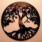 Tree Of Life Metal Wall Decor Elegant Tree Of Life Metal Wall Art