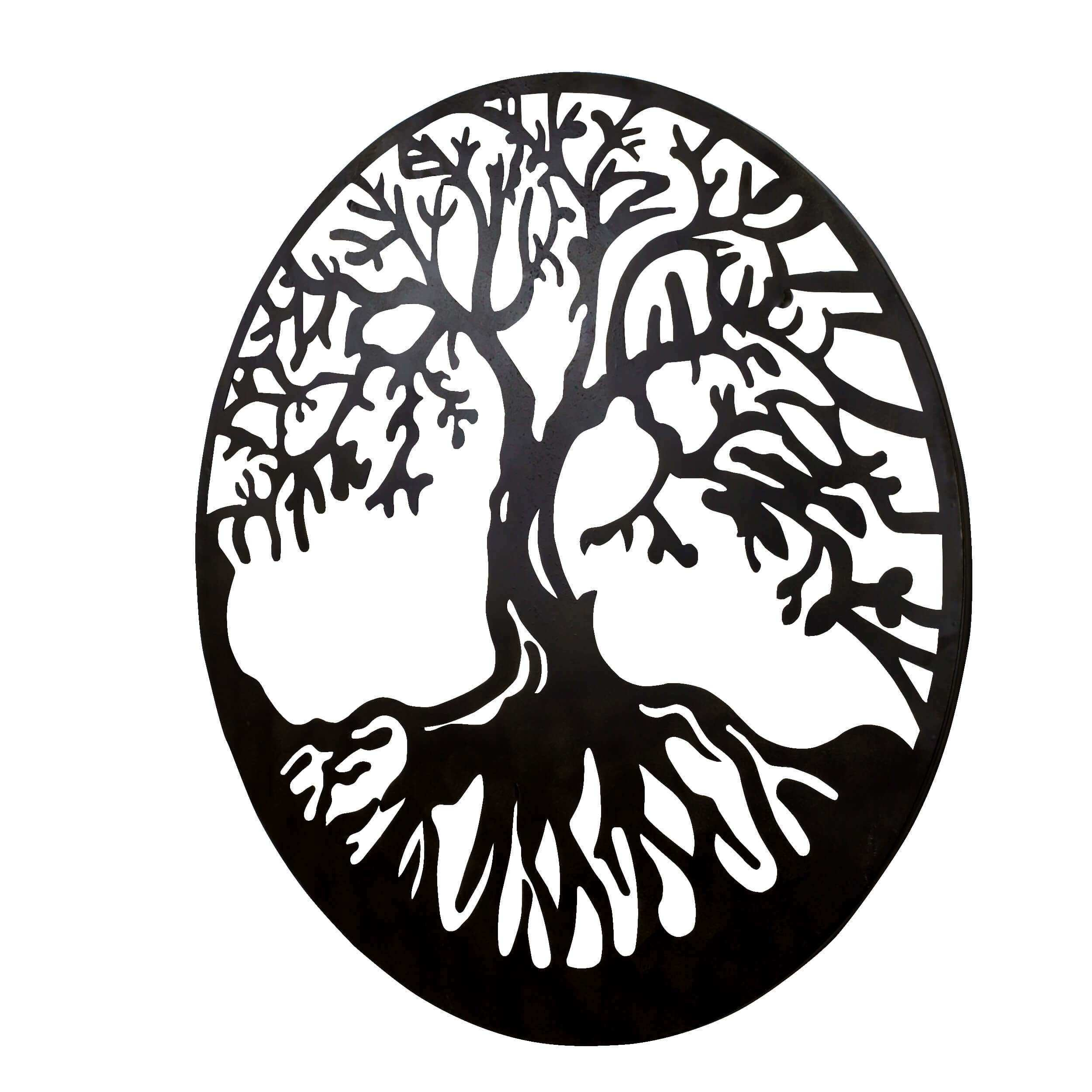 BayAccents Tree of Life Metal Wall Décor & Reviews