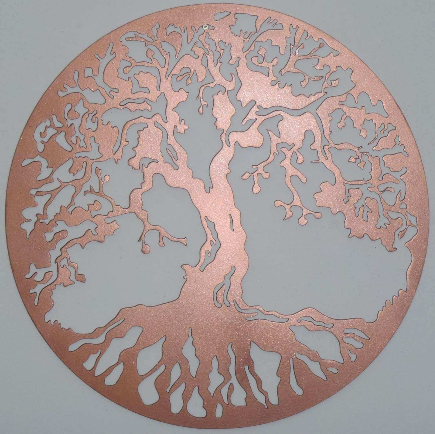 Tree Life Wall decor Metal Art COPPER Look 75 cm 29 5