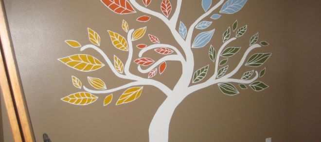 Tree Pictures for Wall Best Of Cobo Four Seasons Tree Mural