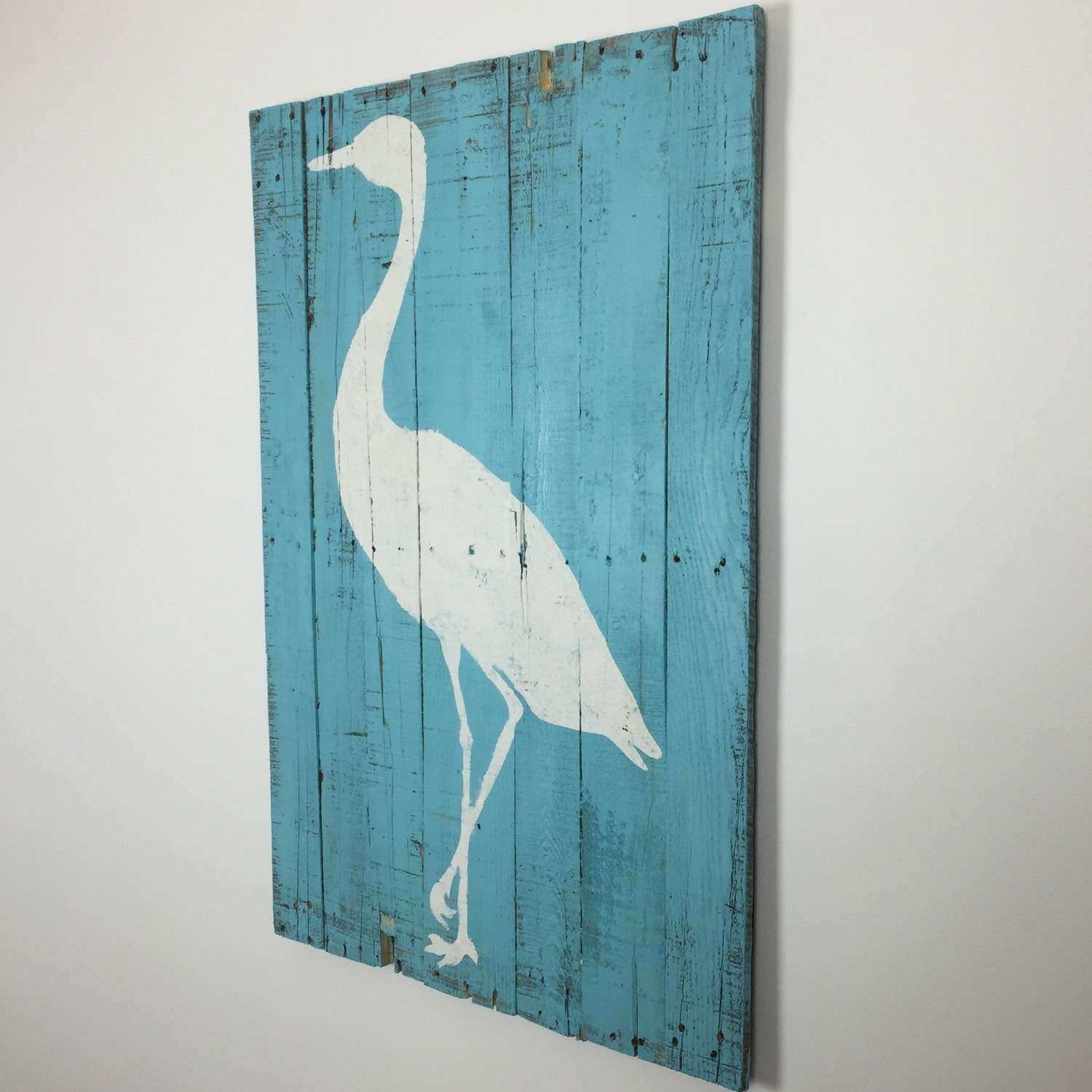 Tropical Decor Beach and Coastal Themed Wall Hanging Artwork