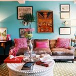 New Turquoise Wall Decor Living Room