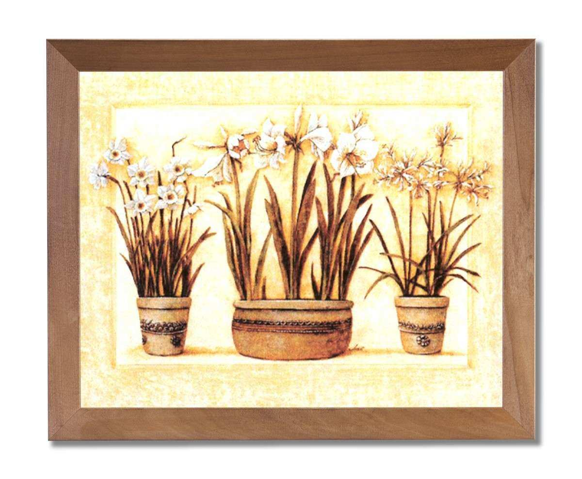 Tuscan Framed Wall Art Beautiful Tuscan Contemporary Flower Floral ...