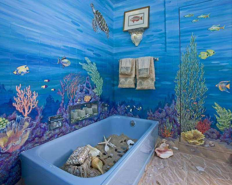 Marvelous Under The Sea Wall Decor Best Of Under The Sea Bathroom Decor With Sand Sea