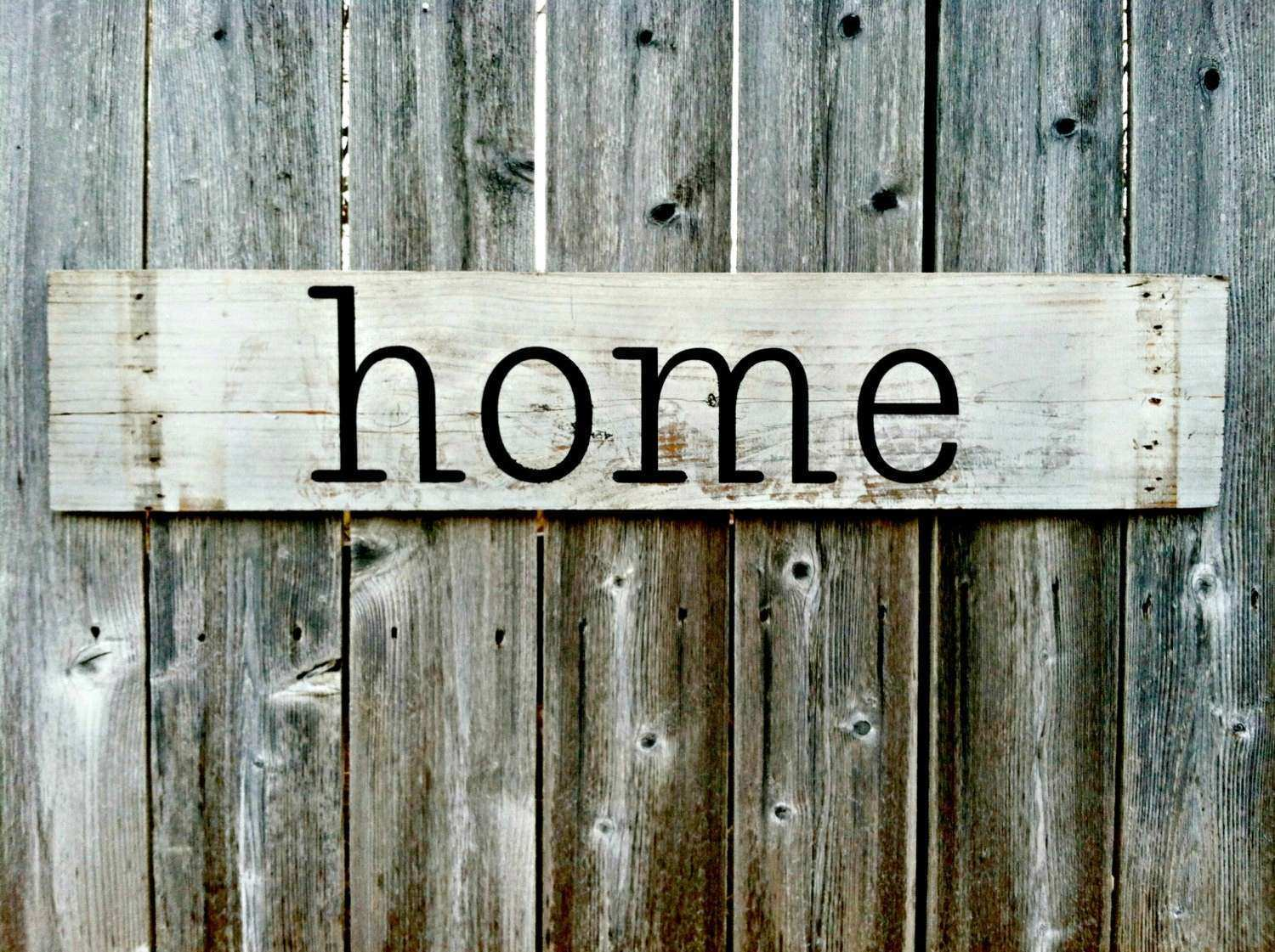 Handmade Wall Decor home Rustic Wooden Sign by RusticDeSIGNS1