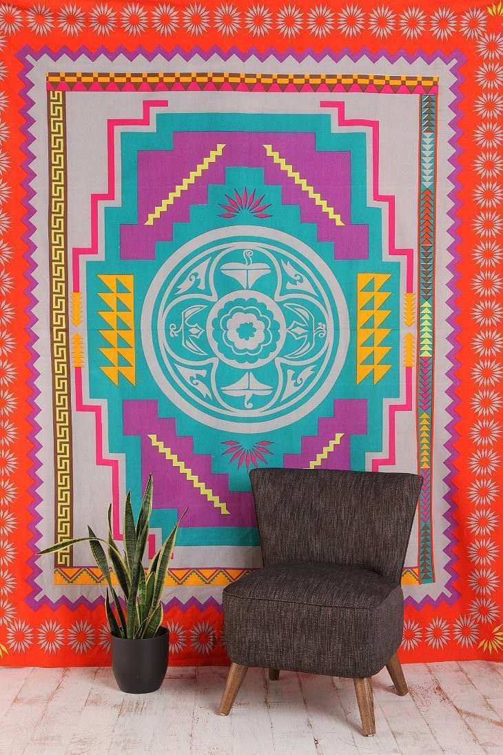 Southwest Medallion Tapestry Urban Outfitters