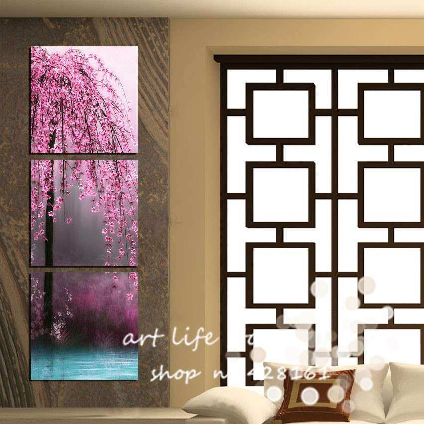 Vertical Wall Decor Awesome Art Intended For Residence