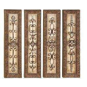 Metal Wall Art Victorian Metal Wall Sculpture European Art