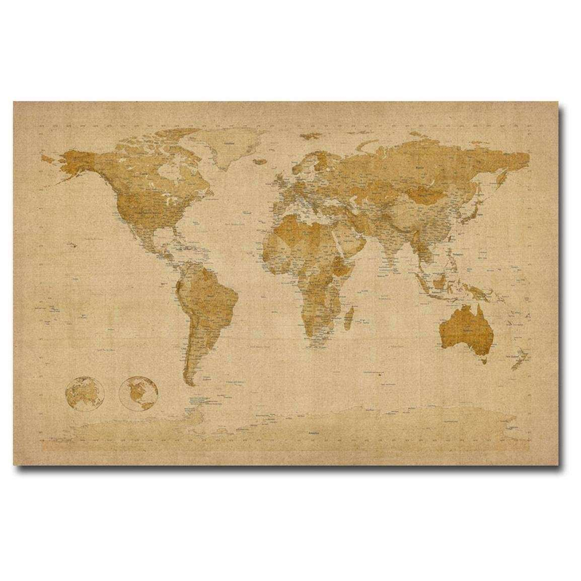 Fine Vintage Wall Art Canvases Ensign - Wall Art Collections ...