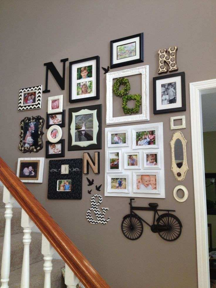 Wall Art Decor Ideas Unique 22 Best Images About Staircase On Pinterest