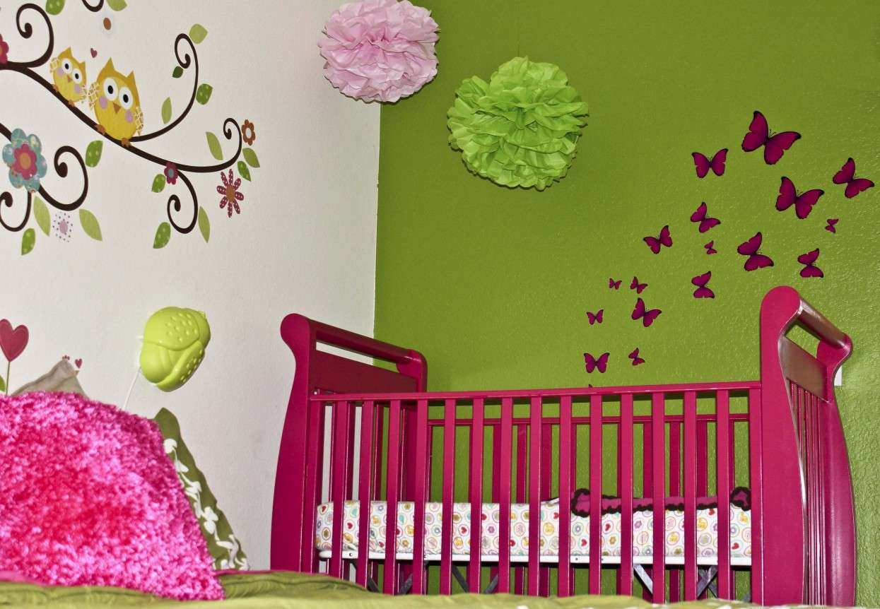Little Girls Room Wall Decor Master Bedroom Interior