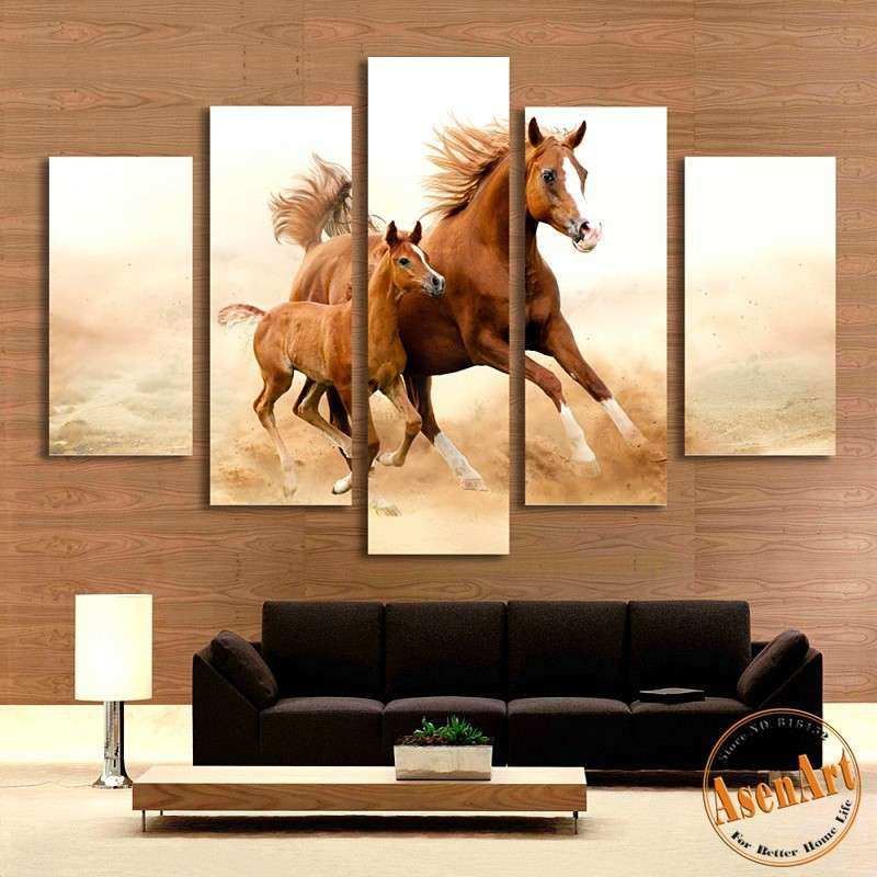 Wall Art Horses Unique Line Get Cheap Horses Artwork Aliexpress ...