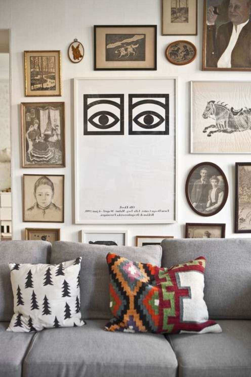 Wonderful Wall Art Ideas for Living Room Decor Items in