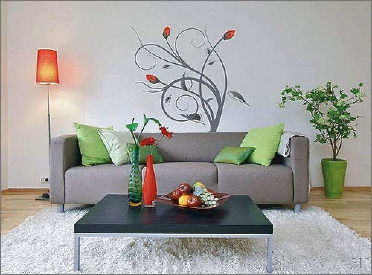 Painting The Living Room Walls – Modern House