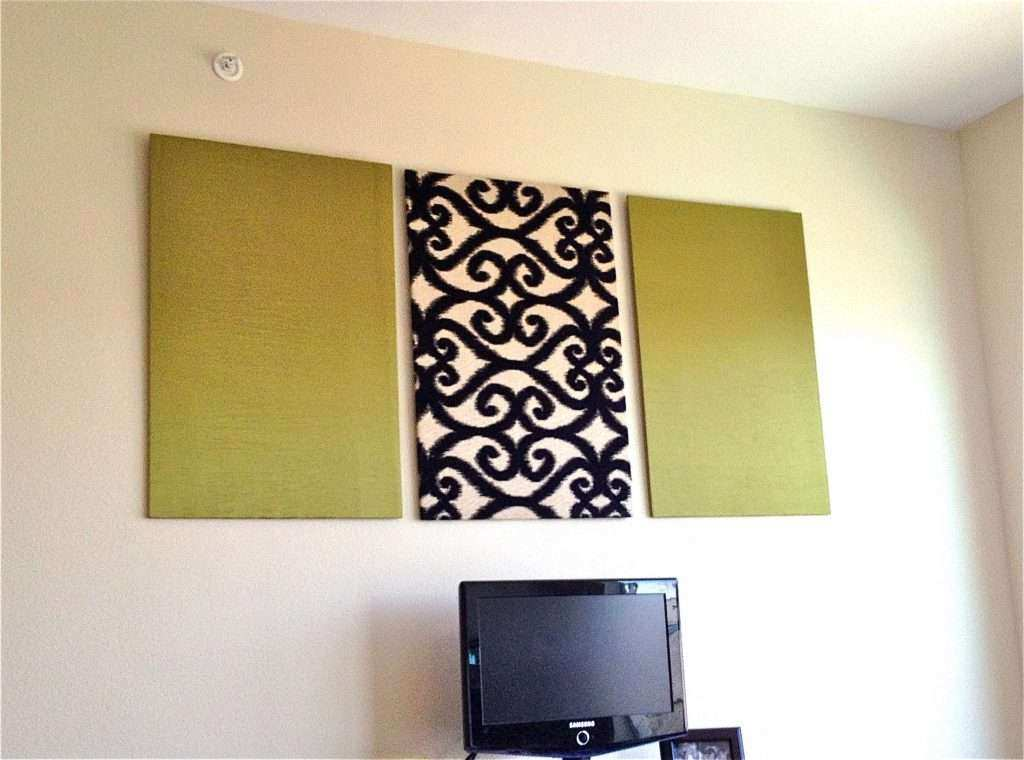 Fancy Fabric Wall Panels Decorative Picture Collection - Wall Art ...