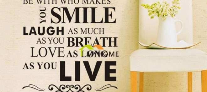 Wall Art Sayings On Wood Best Of Wall Stickers Glamorous Wall Decor ...