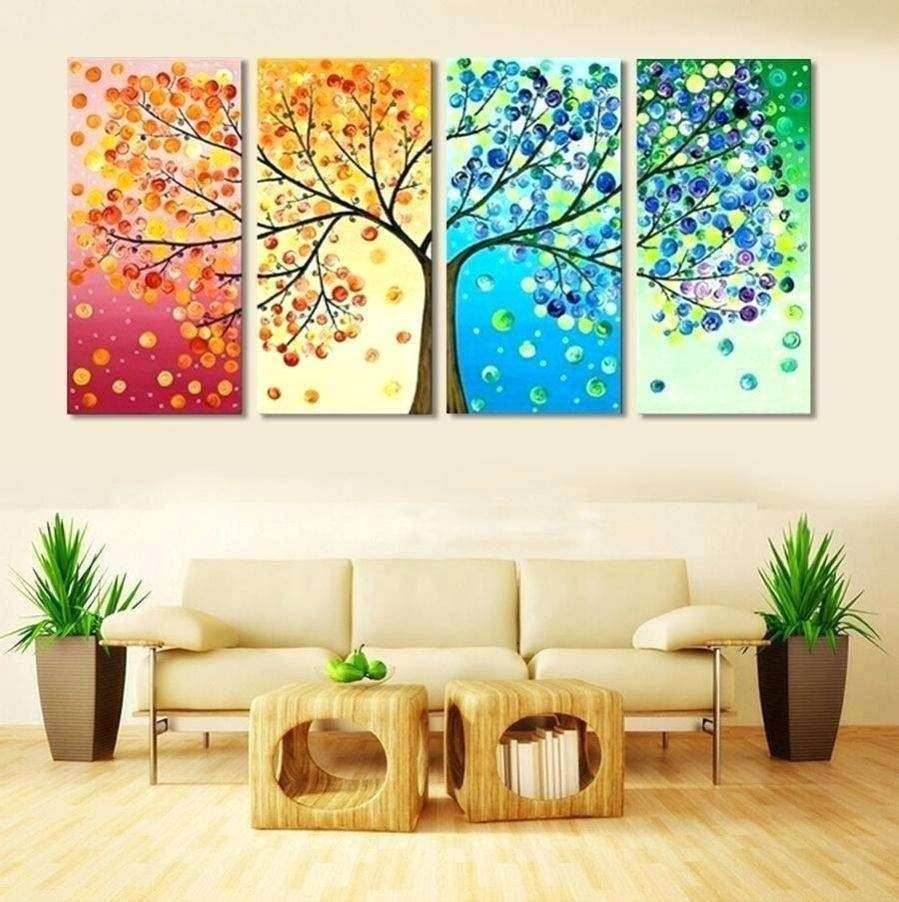 Wall Art Set Of 4 Best Of 25 Collection Of 4 Piece Canvas Art Sets ...