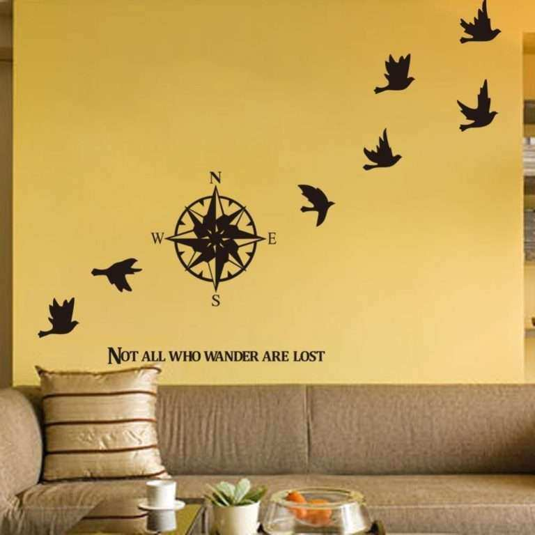 Wall Art Stickers New Pass Wall Sticker Home Decals Decor Removable ...