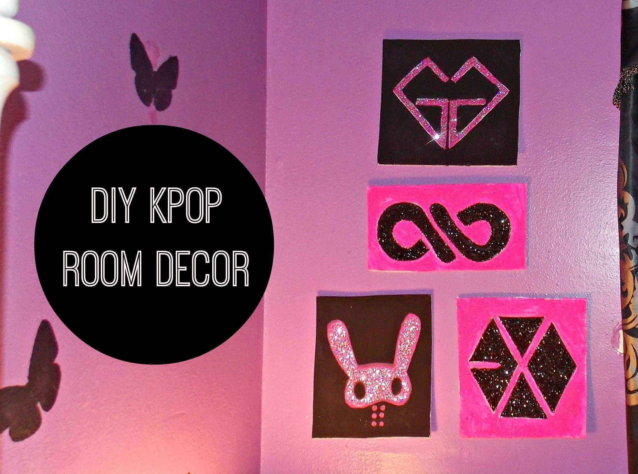 DIY K POP Room Decor Wall Art