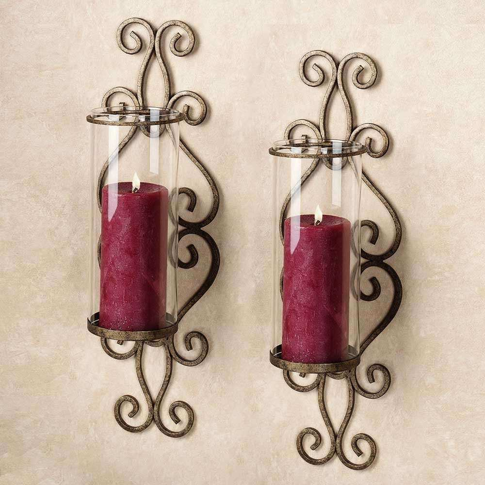 Candle Wall Décor to Create a Romantic and Warm Atmosphere