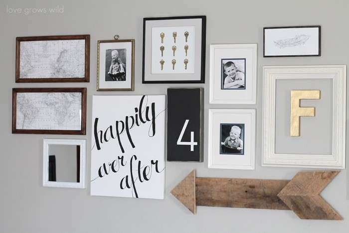 Hang a Wall Collage