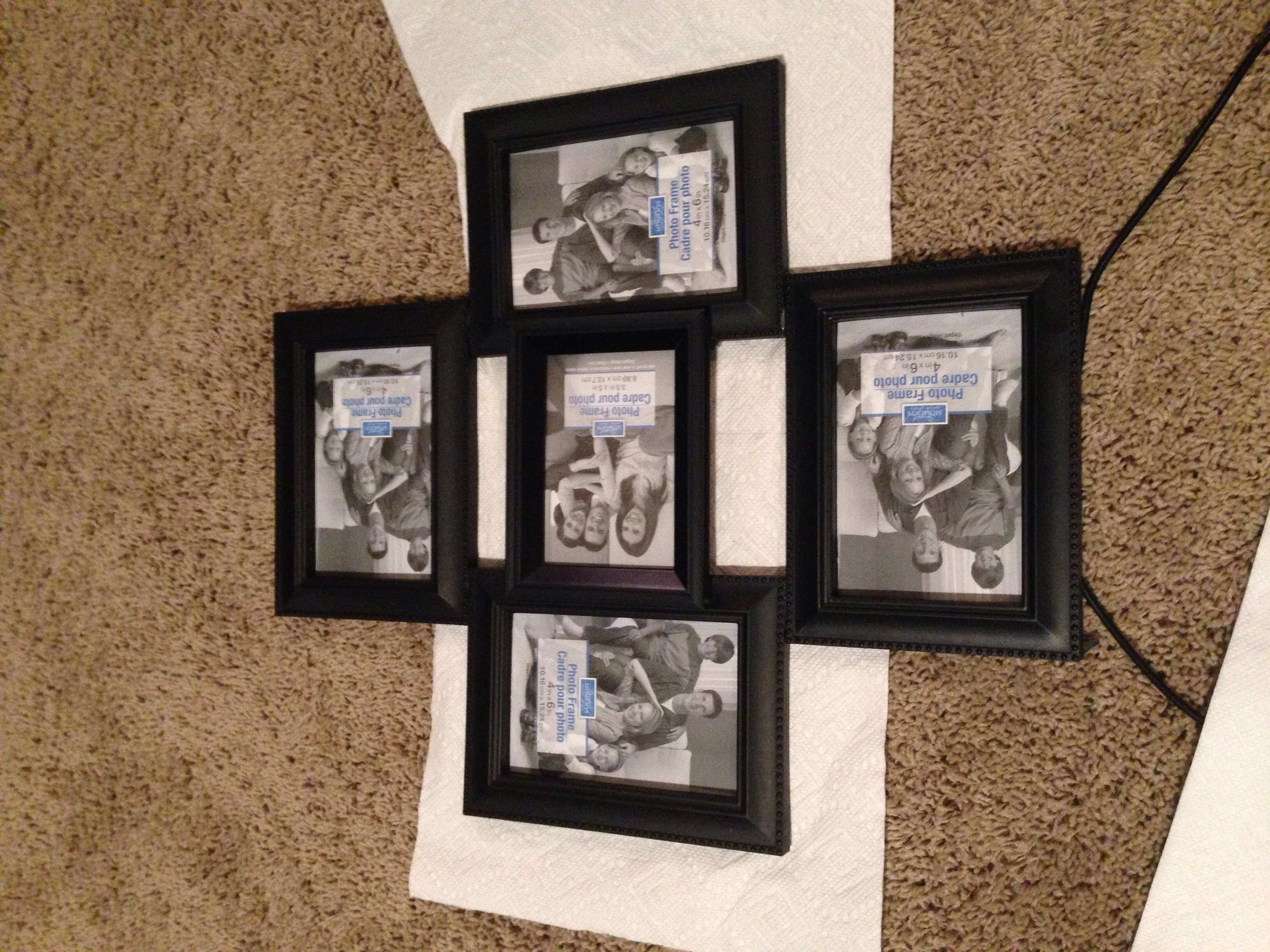 Wall Collage Picture Frames Ideas Best Of Diy Collage Frame Get ...
