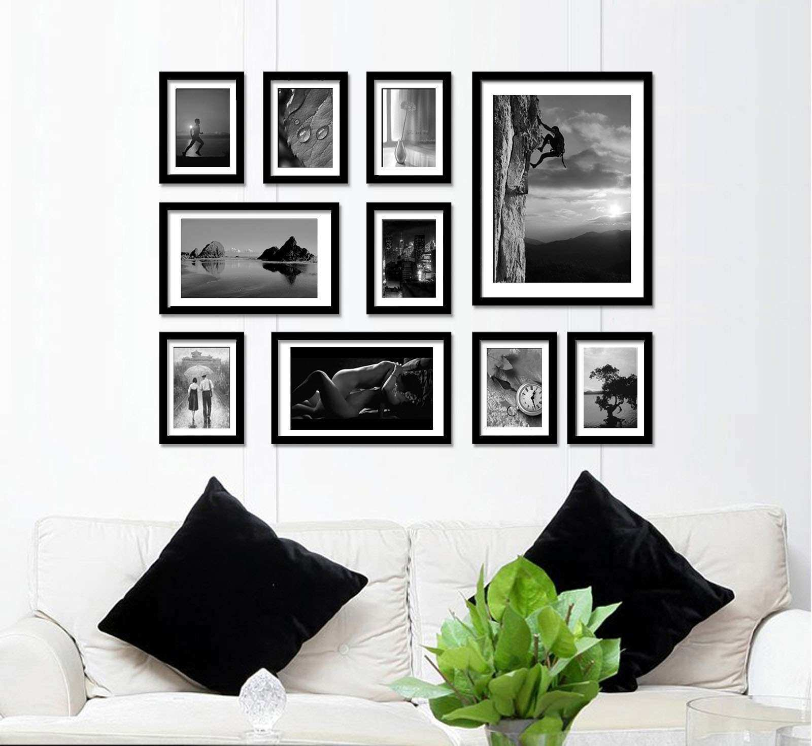 Wall Collage Picture Frames Ideas Lovely Interesting 25 Frame Wall ...