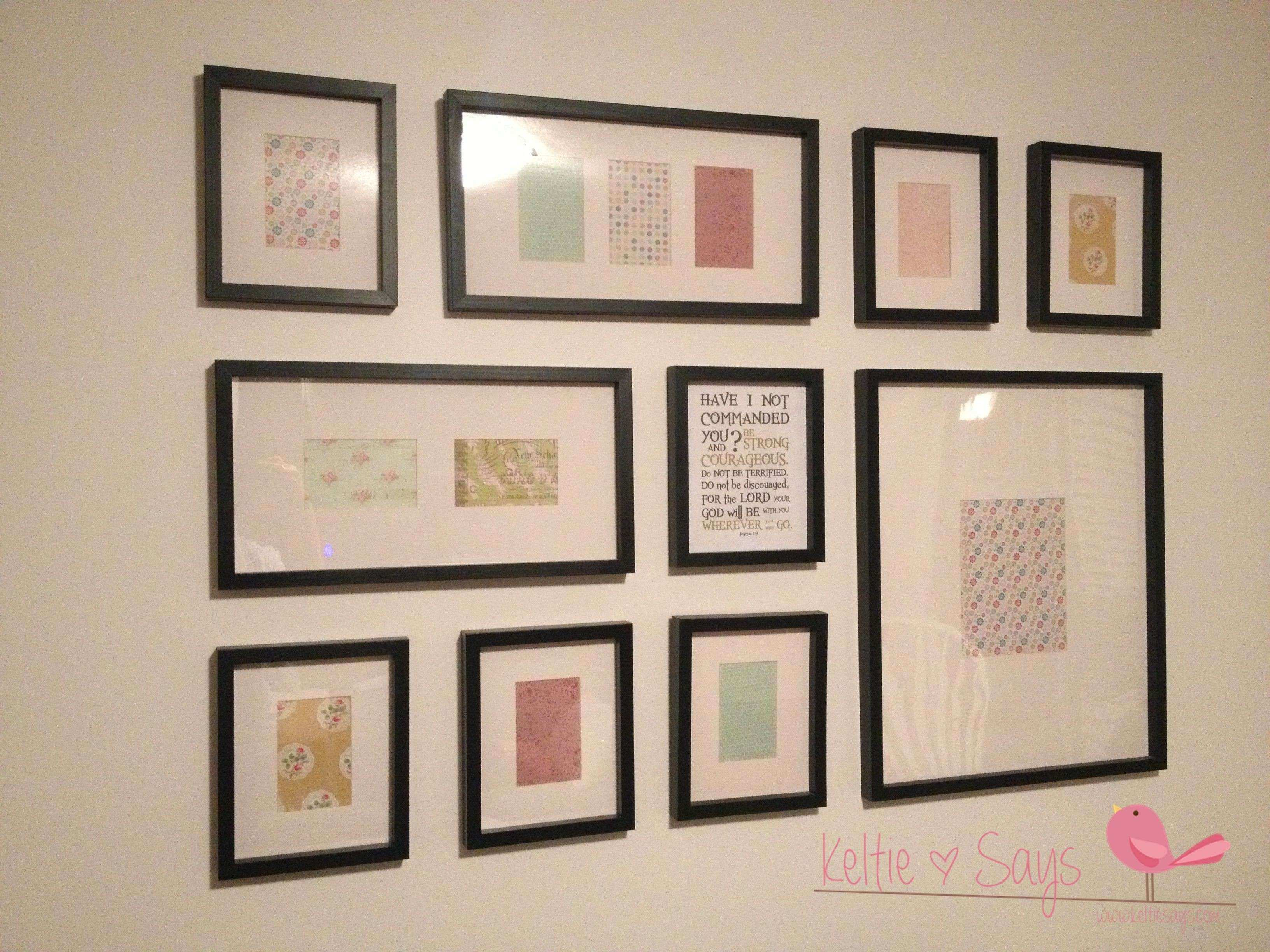 Wall Collage Picture Frames Ideas Luxury Frame Collage Wall Home ...