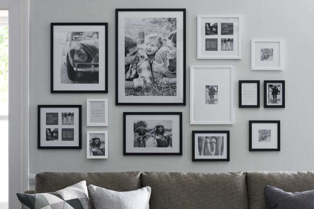 Wall Collage Picture Frames Ideas New Livingroom Hot Fallout No