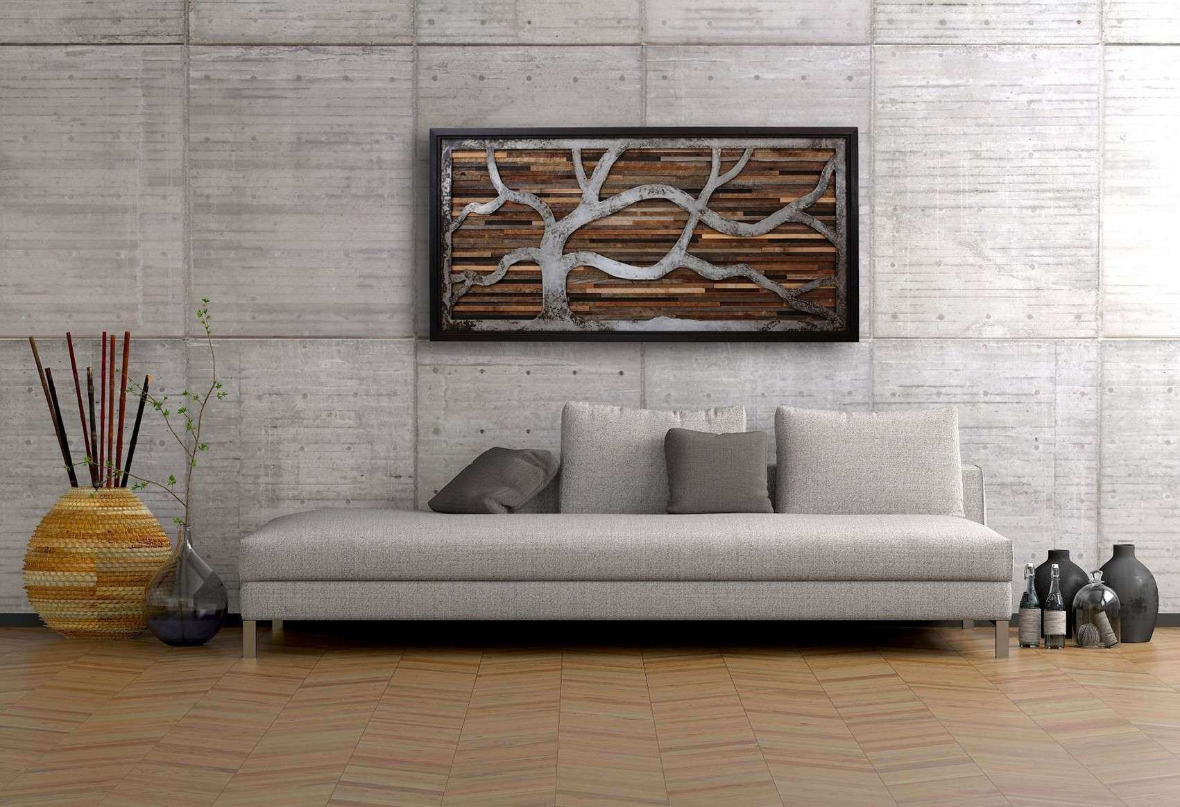 Superb Wall Decor Arts Awesome Creative Ideas For Your Own Reclaimed Wood Wall Art