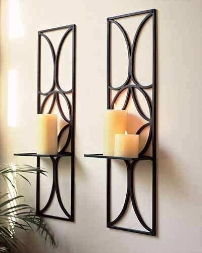 Wall Decor Candle Holders Inspirational And Candles On Pinterest