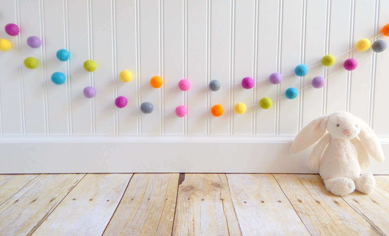 Wall Decor For Baby Rooms Beautiful Garland Felt Ball Garland Girl