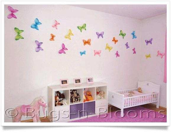 Decorate A Girls Bedroom Kids Wall Decor