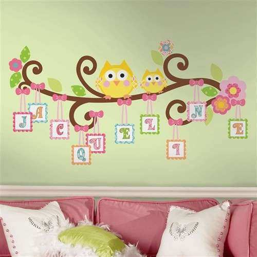 Funky Wall Art Girls Pattern - Wall Art Collections ...