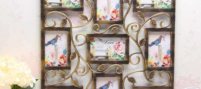 Wall Decor Frames New 8 Types 6 Collage Multi Frames Picture Display