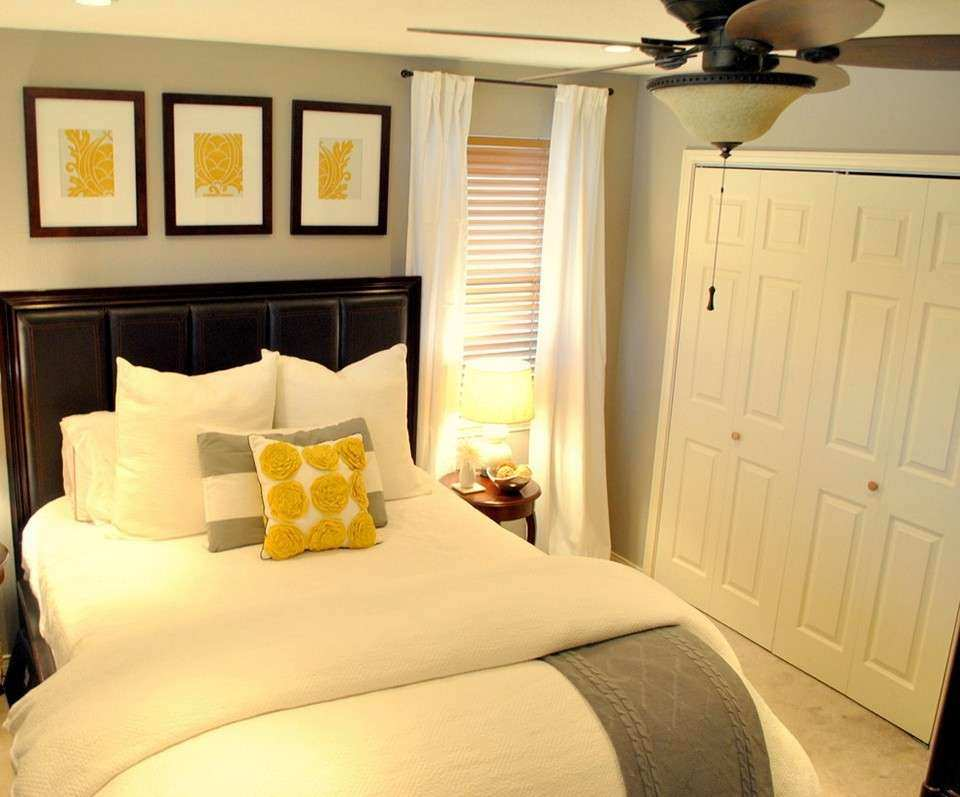 Wall Decor Ideas for Bedroom Fresh Gray and Yellow Bedroom theme ...