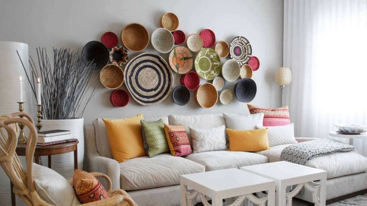 Wall decor ideas for living room beautiful creative living for Beautiful living room decor ideas
