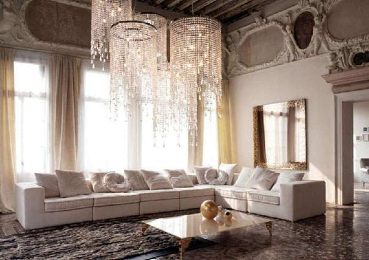 Wall Decor Living Room Beautiful Living Room Attractive Mirror Wall Decoration  Ideas