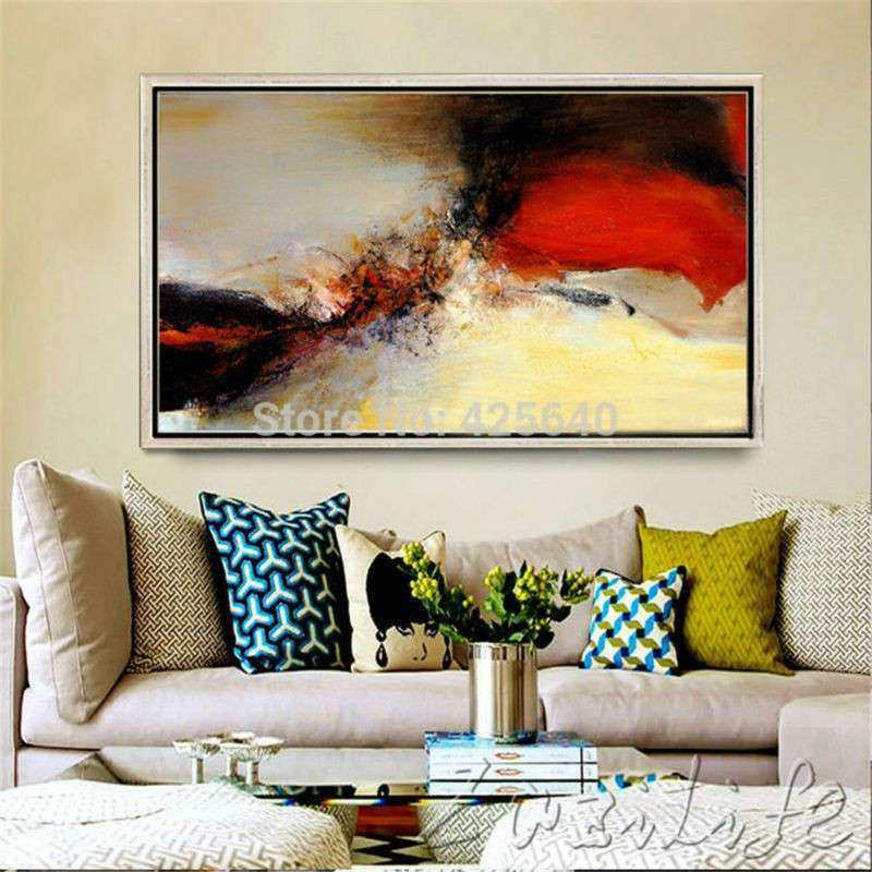 Aliexpress Buy Hand Painted Canvas Oil Paintings