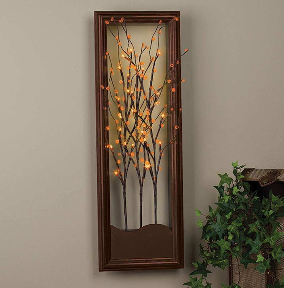 Lighted wall decor choice image home design wall stickers lighted branch walltable decor this lighted wall art adds the wall decor pictures awesome wall art designs lighted wall art tree diy lighted wall panel aloadofball Gallery