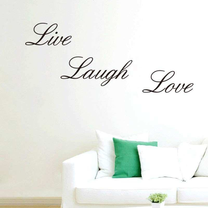 Live Laugh Love Vinyl Decal Art DIY Wall Sticker Home Wall