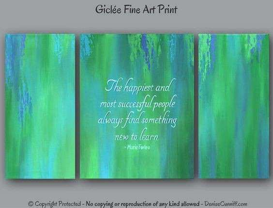 Artworks Canvas quotes and Motivational ts on Pinterest