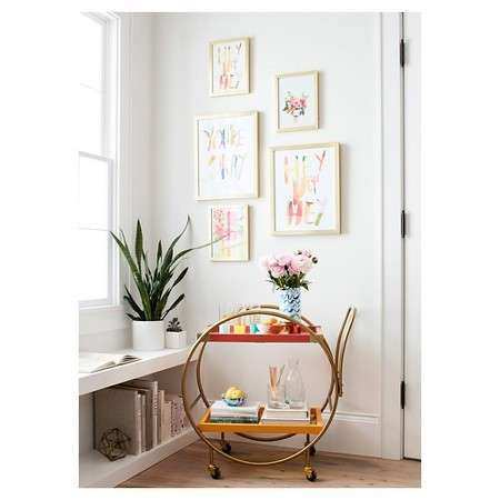 Wall Decor Target Awesome Oh Joy Floral Framed Wall Art 13\