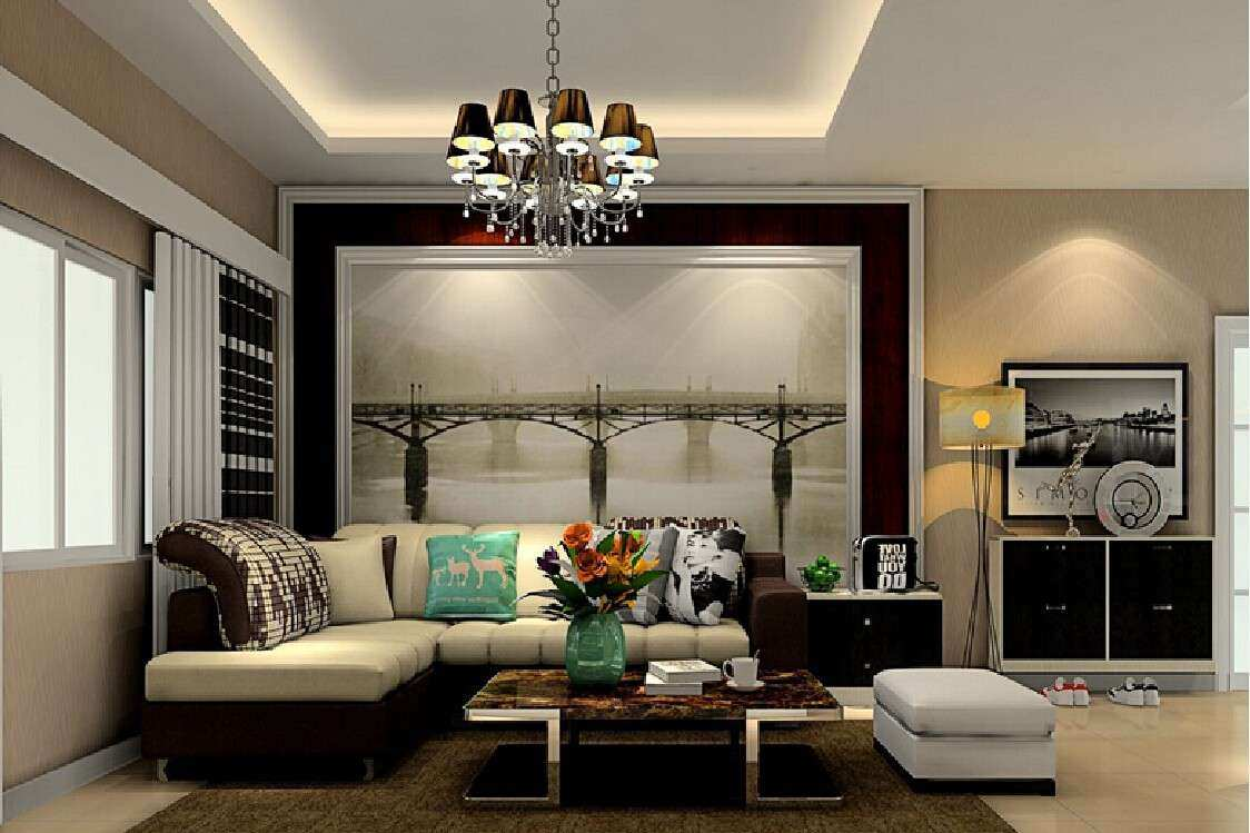 Feature Wall In Living Room – Modern House