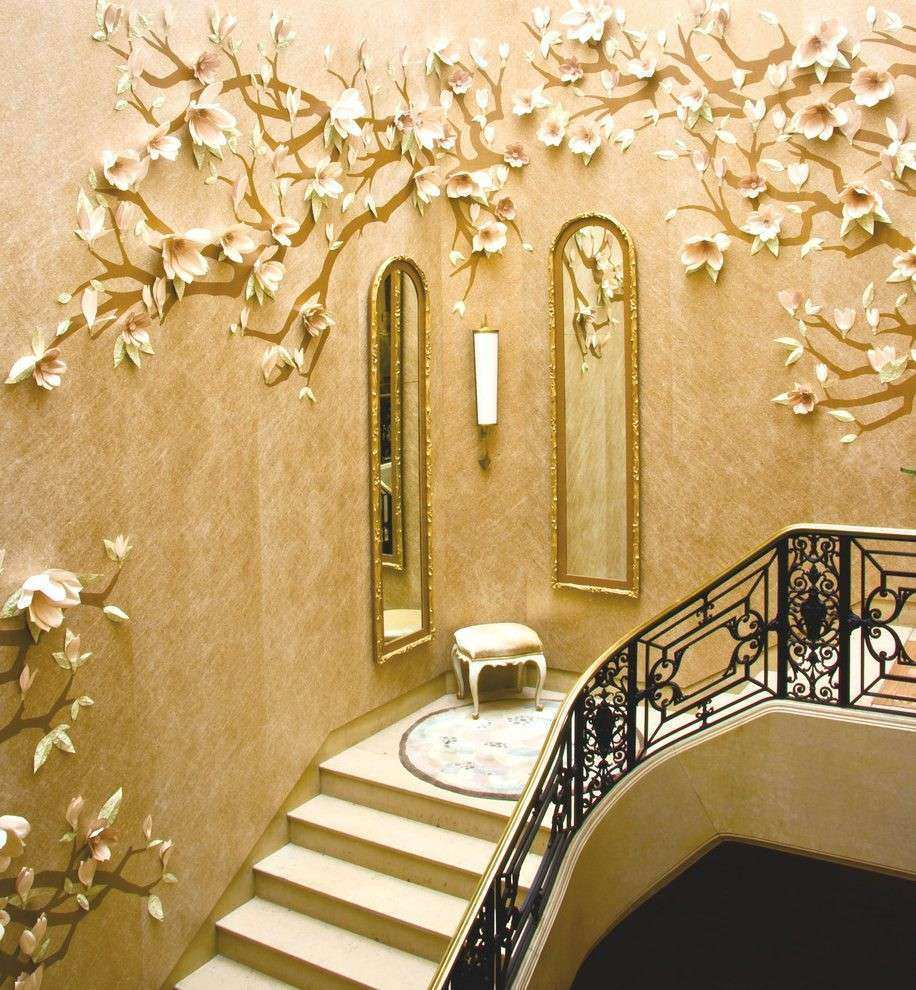 Wall Mirror Decor Ideas Elegant Staircase Wall Decor Ideas Staircase ...